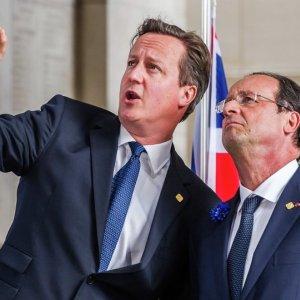 Cameron, Hollande Discuss Iran