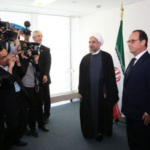 Rouhani in NY, to Confer With Cameron, Hollande