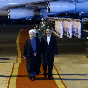 Rouhani Outlines Outcome of NY, Astrakhan Trips