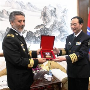 Commander Tours Chinese Naval Base