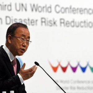 UN Disaster Meeting  Opens in Japan