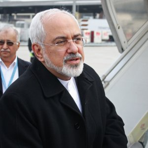 Zarif in Beijing