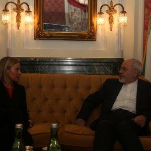 Zarif-Mogherini Talks