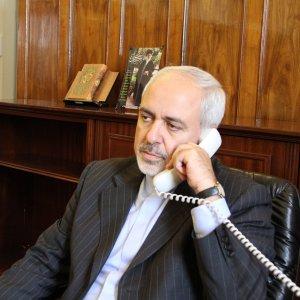 Zarif, Vatican FM Confer