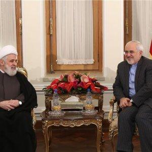 Zarif Meets Hezbollah Deputy