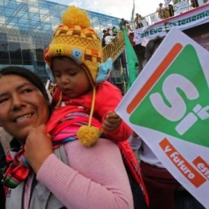 Bolivia to Vote on 3rd Term for Morales