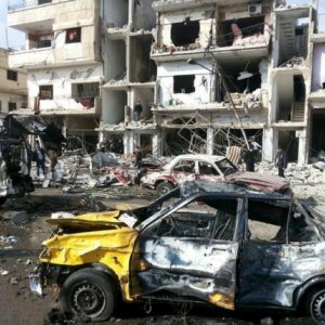Twin Bomb Blasts Kill Dozens in Syria's Homs
