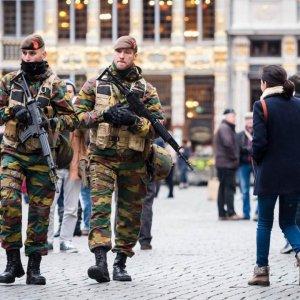 Brussels at Highest Terror Alert Level