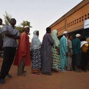 Burkina Faso Poll Counting Underway