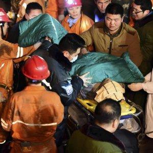 Boss of Collapsed China Mine Kills Himself