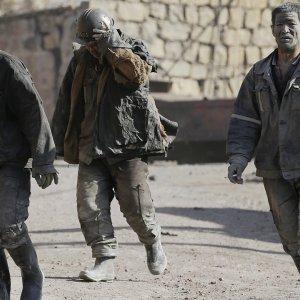 China Mine  Fire Kills 21