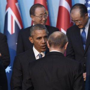 Putin, Obama Discuss War in Syria