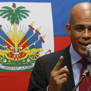 Haiti's Leader Vows to Leave Power
