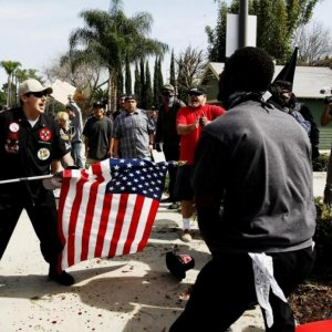 KKK Rally Ends With Stabbings, Arrests