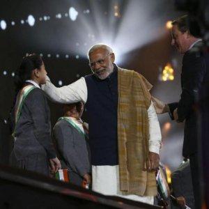UK, India Reaffirm Ties