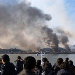 N. Korea Shots Heard From S. Korea