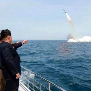 N. Korea Faked Sub-Launched Missile Test Footage