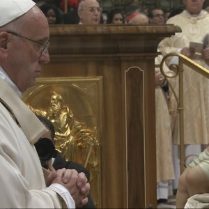 Pope Denounces Materialism