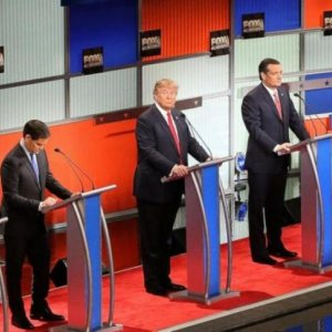 Republican Candidates in Battle Royale
