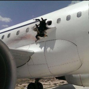 Blast Forced Somali Emergency Landing