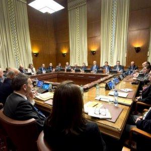 Syria Peace Talks Start