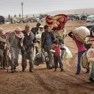 Syria Refugees Stranded at Jordan Border