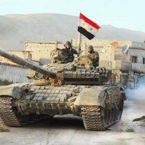 Syrian Army Advances Toward Deraa