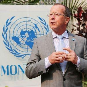 Top German Envoy for Libya