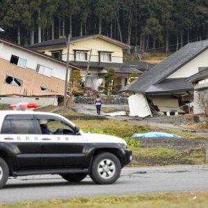 Quake Hits Japan Coast