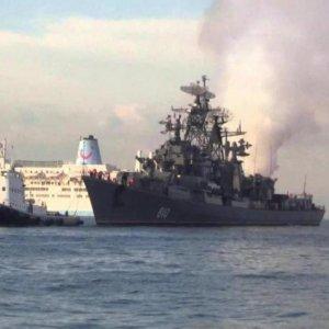 Russia Fires Warning Shots at Turkish Ship
