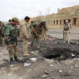 Afghan Blast Kills 5 Policemen