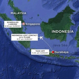 AirAsia Flight With 162  aboard Confirmed Missing