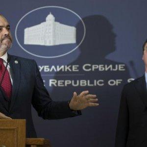 Albanian, Serbian leaders  clash over Kosovo