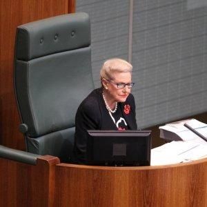 Australia Parliament Speaker Resigns