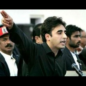 Bhutto's Son  in Political Debut
