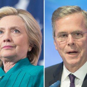Bush, Clinton Trade Blame Over Iraq War