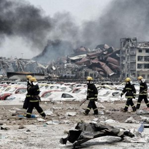 Tianjin Death Toll Rises to 123