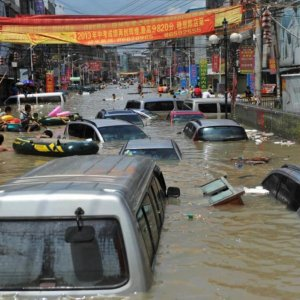 57 Dead in China Flood