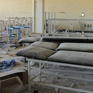 Explosion at Syrian Clinic