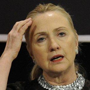 Clinton in  Hot Water