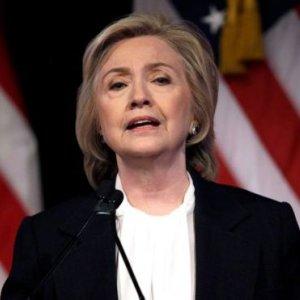 Clinton  Hits Back  at Bush