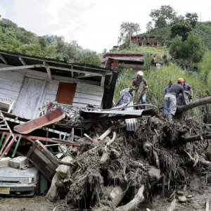 Columbia Landslide Kills Dozens
