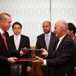 Afghanistan, Turkey Sign Strategic Deal