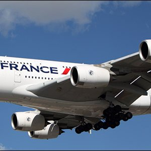 French Flight Escorted