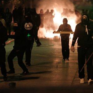 Protesters in Athens Demand Prison Closure