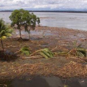 Tsunami Hits New Guinea