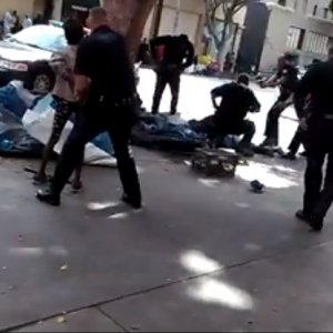 LAPD Shoots Homeless