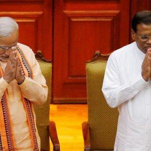 India, Lanka  Mend Ties