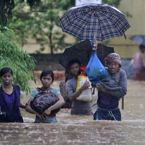 Renewed Flooding in India's Northeast