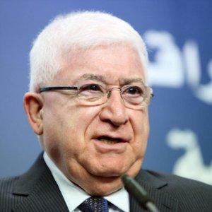 Iraqi President in Riyadh